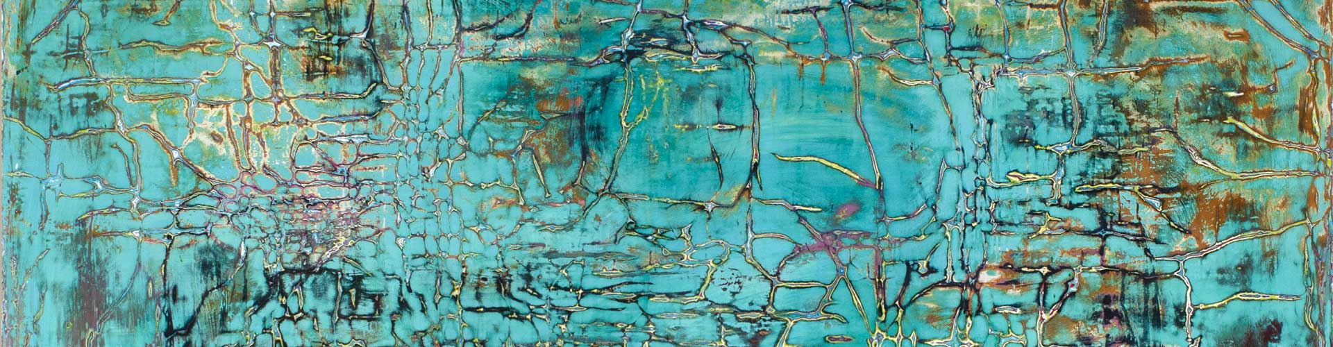 Painting in Turquoise-Azur dream 2020